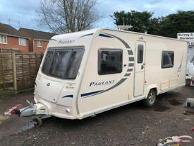 2010 Bailey Pageant Sancerre 4 Berth caravan FIXED BED, AWNING, Bargain !