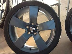 Holden 4 x VE SS Thunder Rims Wheels Tyres Bathurst Bathurst City Preview
