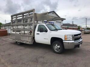 2010 Chevrolet Silverado 3500HD Glass Truck