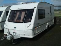 2003 BESSACARR cameo 495se /2 berth end changing room