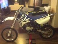 Yamaha 85cc small wheel