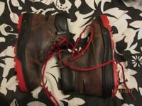 THINSULATE THERMAL INSULATION STEEL TOE CAP LEATHER UPPERS BOOTS SIZE 5 WORN ONCE