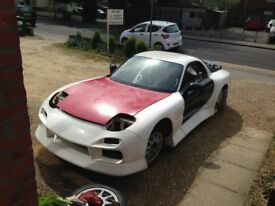 Widebody Mazda Rx7 fd3s (project) £9000 very near offers considered