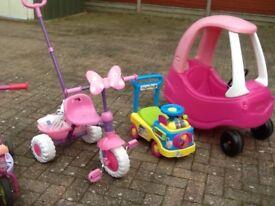 Selection of garden toys