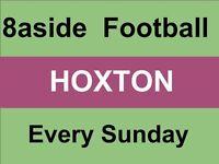 Football every Sunday at Haggerston park, close to Shoreditch/Hoxton