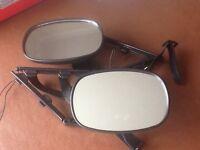 Unifit Scissor Mirrors as new