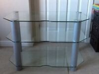 Glass TV Table/Unit