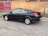 ASTRA CONVERTIBLE 2007 VAUXHALL ASTRA 1.8 TWINTOP SPORT CONVERTIBLE 2DR ONE OWNER,FSH,STUNNING CAR.