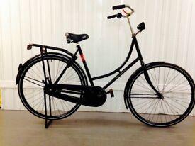 City bike Fully serviced Dutch Oamfiets excellent Condition serviced Medium Frame