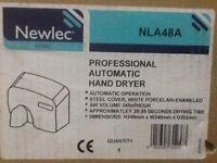 Professional electric bathroom hand dryer