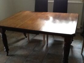 Antique, Victorian, Dining Table