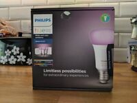 PHILIPS Hue White and Colour Ambience E27 Smart Bulb Starter Kit - Brand New