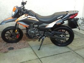 MINT KEEWAY TXM 125 in mint condition only done 900 miles