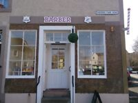 Kelso Barber Shop for sale or rent well established over 25 years
