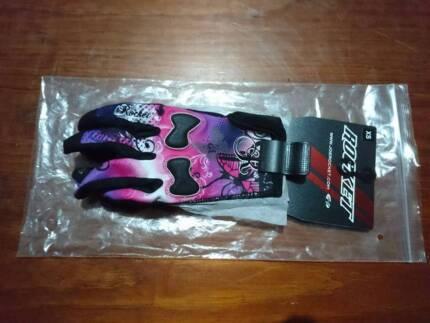 Joe Rocket womens summer motorcycle gloves - size XS