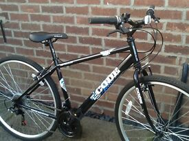 Apollo code adults hybrid bike like new