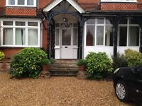 Large double room to rent in superb ground floor apartment in Camberley [Room 3]