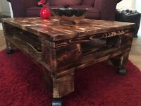 New pallet Coffee Table,handmade