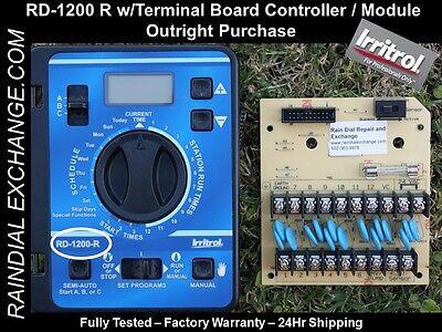 Irritrol Rain Dial RD-1200 R, RD1200 R w/ board EX-Cond. Fst Shp,Warranty,Tested