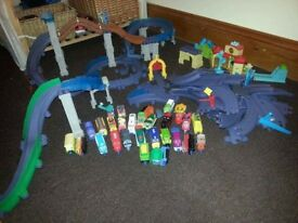 Large collection of Chuggington track and trains
