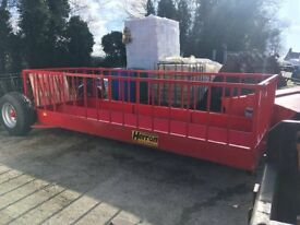 Herron Sheep Feed Trailer