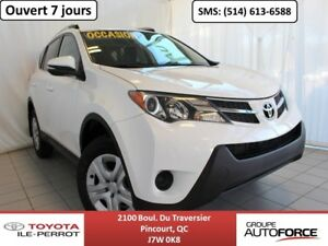 2015 Toyota RAV4 AWD LE UPGRADE, A/C, CAM RECUL, BLUETOOTH LIKE