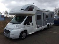 2007 '57' Swift Kontiki 669 motorhome. Tag axle. Fixed bed. Immaculate condition. 41000 miles