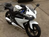 yamaha yzf r125 yzfr125 cbr nsr cbf can deliver px welcome