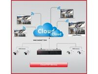 AHD CCTV DVR WITH FITTED HARD DRIVE REMOTE CLOUD NVR P2P HDMI VIEWING ON MOBILE, TABLETS, PC & MORE