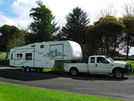 2005 33ft Forest River Wildcat 5th Wheeler Maitland Yorke Peninsula Preview