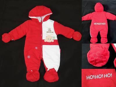 hnachten my first christmas HOHOHO 50, 56, 62, 68, 74 (Baby Christmas Anzug)