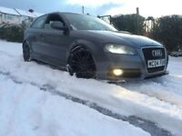 audi a3 1.9 tdi S LINE replica 2012 manual for sale or swap