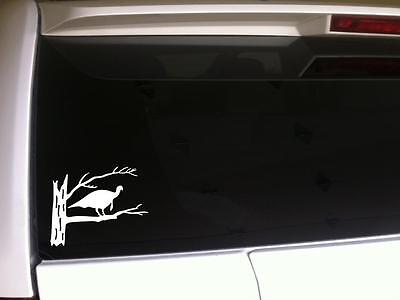 "Turkey Hunter Car Decal Vinyl Sticker 6"" G5 Bird Hunting Guns Dogs Call Gift"