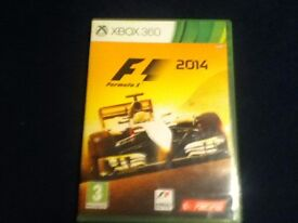 F1 2014 XBOX 360 GAME