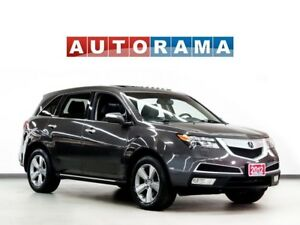 2012 Acura MDX TECH PKG NAVIGATION LEATHER SUNROOF 7 PASS 4WD DV