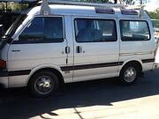 Van 8 seater, 4cyl,5 speed man, E1800 mazda, 1986. Caboolture Caboolture Area Preview