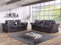 Brand New ROMA FAbric 3+2 or Corner Sofa On Sale