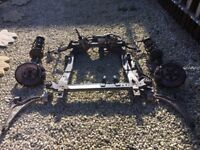 VAUXHALL ASTRA J, 2012, 1.4, A14NET, FRONT SUBFRAME - COMPLETE
