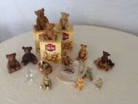 Collection of teddy bear ornaments & novelties