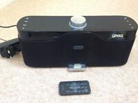 GEAR 4 IPOD/IPHONE SPEAKERS AND RADIO
