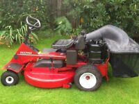 Snapper ride on lawnmower 33inch for sale