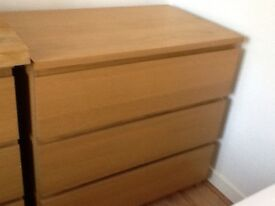 IKEA malm drawers
