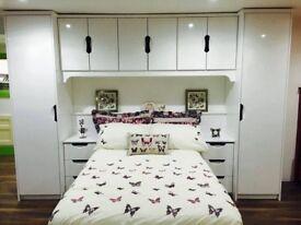 Wardrobe bed set