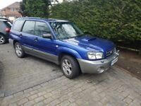 Subaru forester xt turbo 2005 54 reg , impreza legacy , fast and reliable