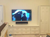Professional Tv Wall Mounting Services Edinburgh, Tv Wall Mount Sky SoundBar Plasma Sonos Installer
