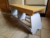 Unique coffee table / childs bench
