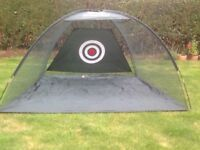 Golf pop-up practice net for sale. Good used condition