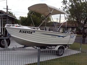 Seajay escape 4.45 yamaha 40 hp suit fussy buyer low hours Bankstown Bankstown Area Preview
