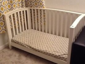 White cotbed for sale