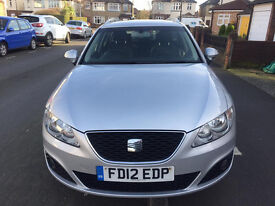 2012 SEAT EXEO 2.0 TDI, 5 DOOR ESTATE, 114K WITH FULL SEAT SERVICE HISTORY, TWO PREVIOUS OWNER,